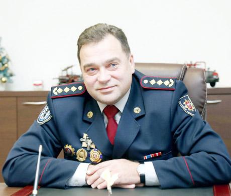 Šiaulių priešgaisrinės gelbėjimo valdybos viršininkas Kęstutis Bautronis